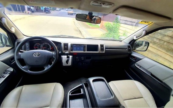 Pearlwhite Toyota Hiace Super Grandia 2015 for sale in Marikina-4