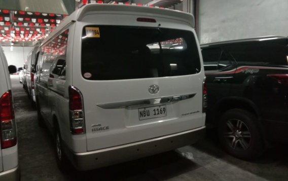 Pearlwhite Toyota Hi Ace Super Grandia 2017 for sale in Quezon City-3