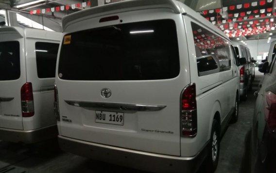 Pearlwhite Toyota Hi Ace Super Grandia 2017 for sale in Quezon City-2
