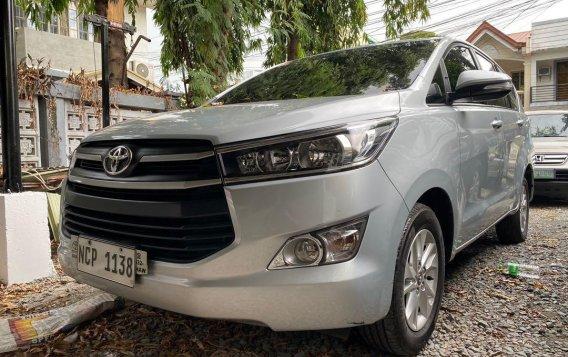 Silver Toyota Innova 2017-1