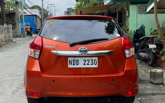 Sell Orange 2016 Toyota Yaris Hatchback at Automatic in  at 24600 in Malabon-2