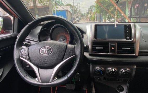 Selling Orange Toyota Yaris 2016-8