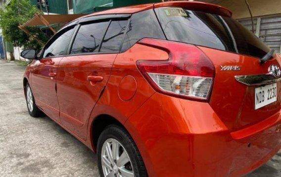Selling Orange Toyota Yaris 2016-3