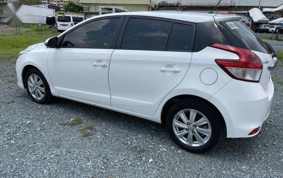Sell White 2015 Toyota Yaris-7