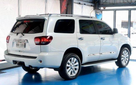 Pearl White Toyota Sequoia 2019 for sale-3