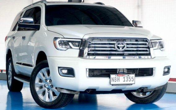 Pearl White Toyota Sequoia 2019 for sale