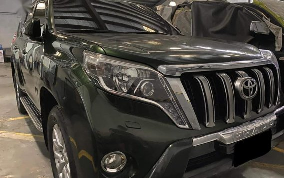 Black Toyota Prado 2015 for sale in Quezon
