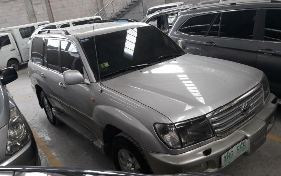 Brightsilver Toyota Land Cruiser 2003 for sale in Cainta-1