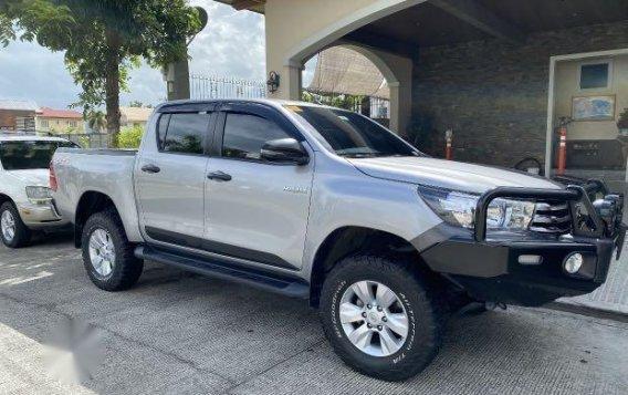 Brightsilver Toyota Hilux 2019 for sale in San Fernando-1