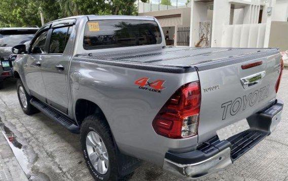 Brightsilver Toyota Hilux 2019 for sale in San Fernando-5