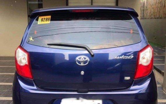 Blue Toyota Wigo 2016 for sale in Samal-1