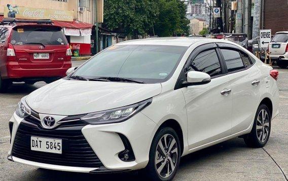 White Toyota Vios 2020 for sale in Makati-1