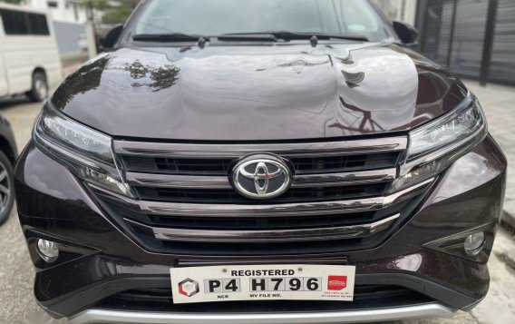 Selling Red Toyota Rush 2020 in Quezon