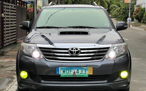 Selling Grey Toyota Fortuner 2014 in San Mateo-5