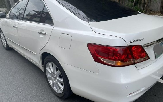 Pearl White Toyota Camry 2008 for sale in Quezon-2