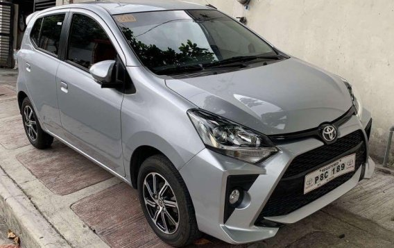 Selling Silver Toyota Wigo 2020 in Quezon-1