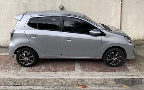 Selling Silver Toyota Wigo 2020 in Quezon-2