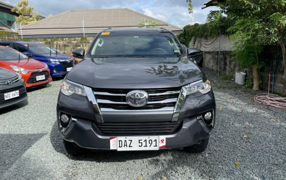 Grey Toyota Fortuner 2020 for sale in Quezon-1
