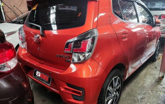 Orange Toyota Wigo 2020 for sale in Quezon City-1