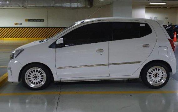 Selling White Toyota Wigo 2016 in Muntinlupa-1