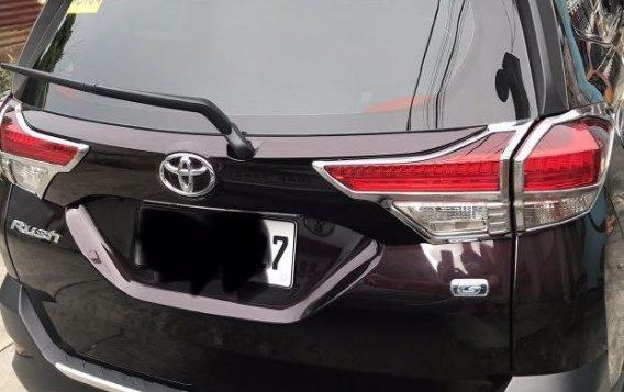 Red Toyota Rush 2020 for sale in Bacoor-3