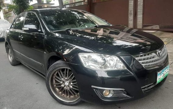 Selling Black Toyota Camry 2007 in Quezon City