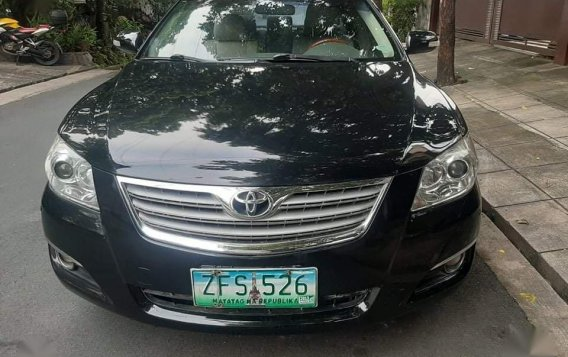 Selling Black Toyota Camry 2007 in Quezon City-2