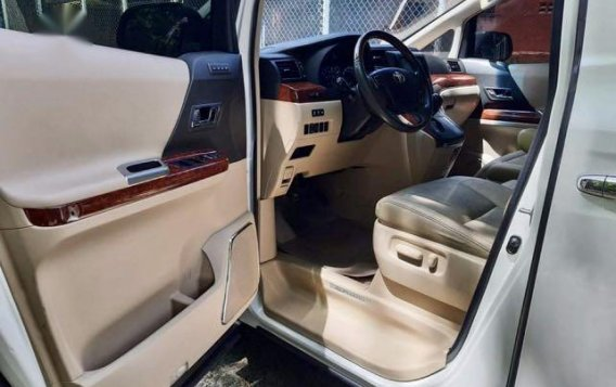 Pearl White Toyota Alphard 2011 for sale in Taytay-9