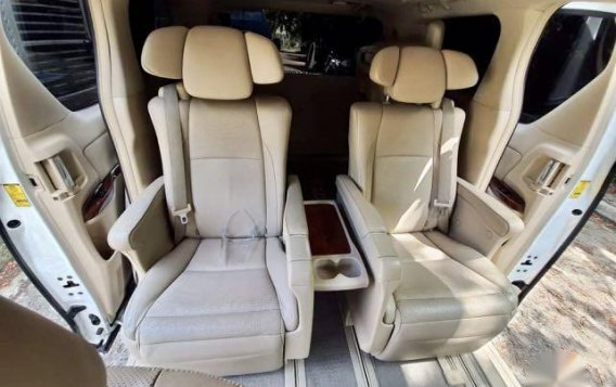 Pearl White Toyota Alphard 2011 for sale in Taytay-8