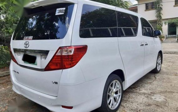 Pearl White Toyota Alphard 2011 for sale in Taytay-3