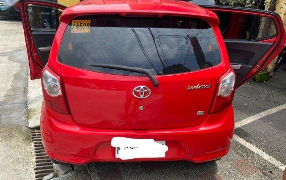 Selling Red Toyota Wigo 2016 in Quezon City-1