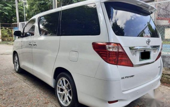 Pearl White Toyota Alphard 2011 for sale in Taytay-4
