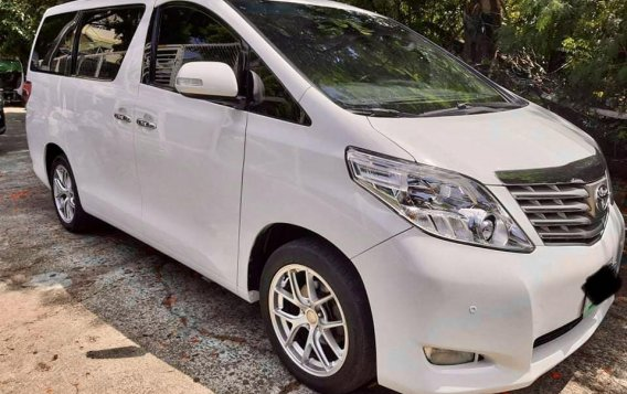 Pearl White Toyota Alphard 2011 for sale in Taytay-2