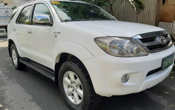 Sell White 2006 Toyota Fortuner in Quezon City