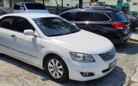 Sell White 2008 Toyota Camry in Mandaluyong