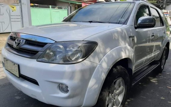 Sell White 2006 Toyota Fortuner in Quezon City-1