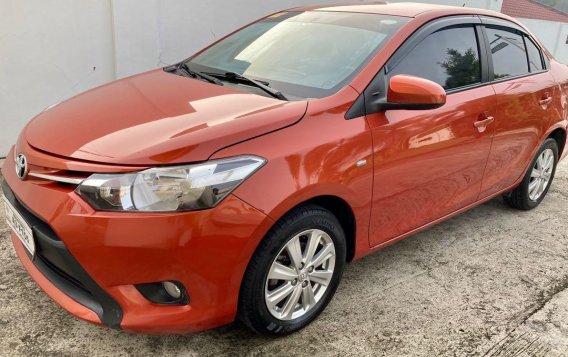 Selling Orange Toyota Vios 2018 in Taal-2