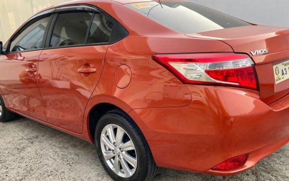 Selling Orange Toyota Vios 2018 in Taal-4