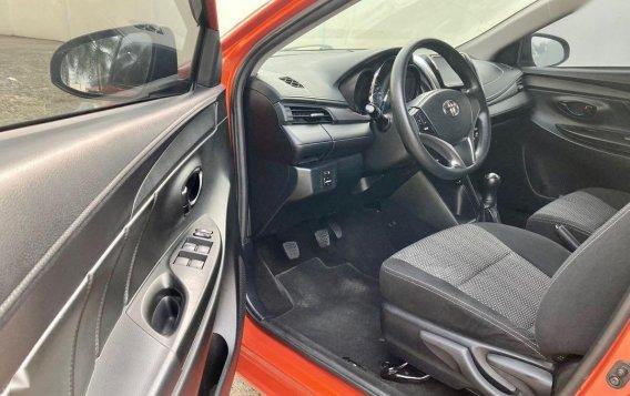 Selling Orange Toyota Vios 2018 in Taal-7