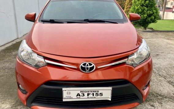 Selling Orange Toyota Vios 2018 in Taal-1