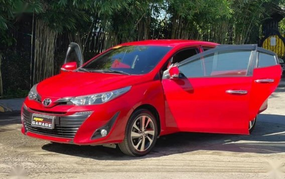 Selling Red Toyota Vios 2020 in Quezon-2