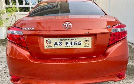 Selling Orange Toyota Vios 2018 in Taal-5