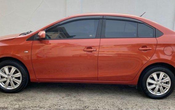 Selling Orange Toyota Vios 2018 in Taal-3