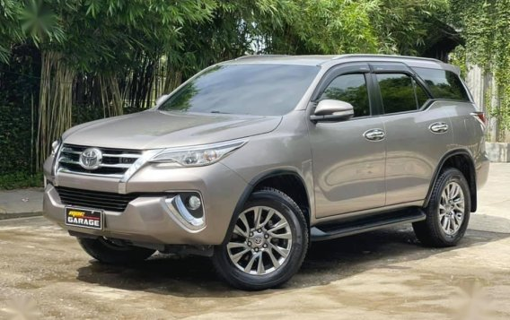 Sell Grey 2018 Toyota Fortuner in Quezon City-2