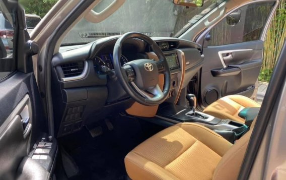 Sell Grey 2018 Toyota Fortuner in Quezon City-7