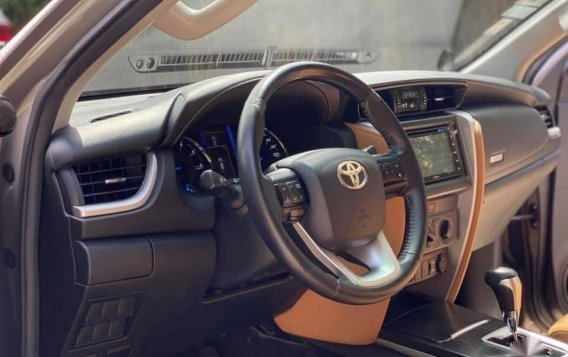 Sell Grey 2018 Toyota Fortuner in Quezon City-6