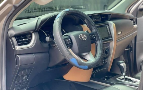 Sell Grey 2018 Toyota Fortuner in Quezon City-8
