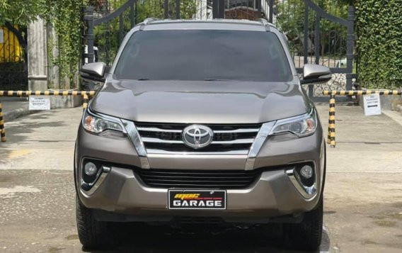 Sell Grey 2018 Toyota Fortuner in Quezon City