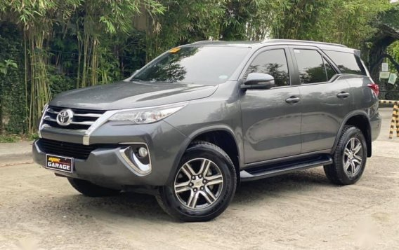 Sell Grey 2018 Toyota Fortuner in Quezon City-1