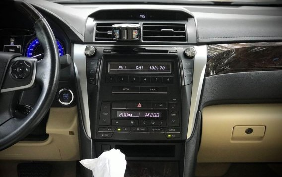 Black Toyota Camry 2016 for sale in Muntinlupa-7